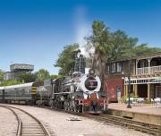 002 Der Rovos-Bahnhof in Pretoria - ROVOS RAIL - X_bp