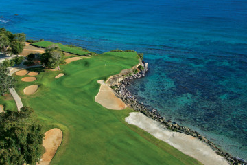 Famous golf resort in the Dominican Republic