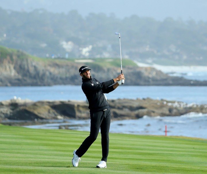 dustin-johnson-pebble-beach-2018-saturday-18th-hole