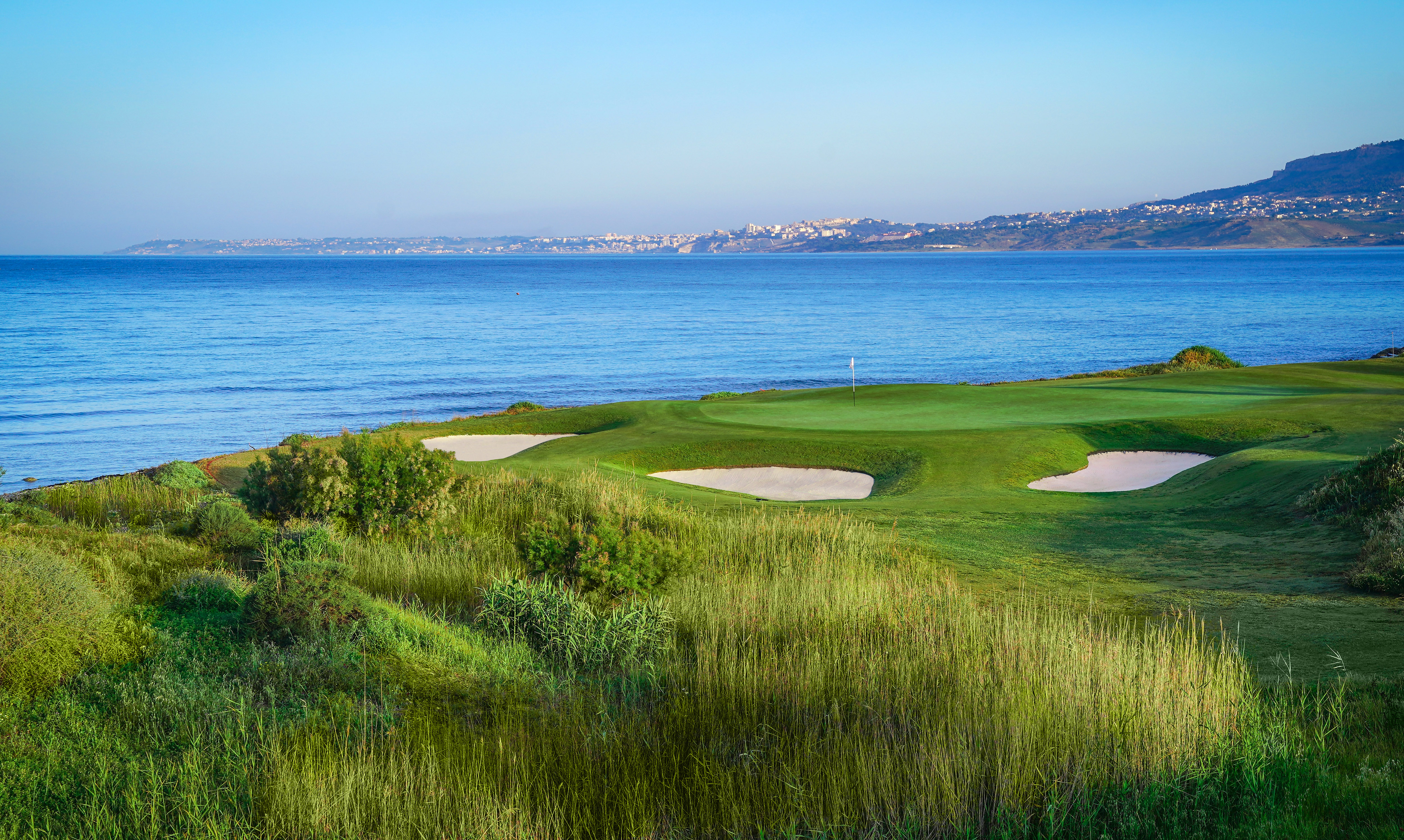 SCIACCA, ITALY - MAY 12: A general view of the seventh hole prior to the third round of the The Rocco Forte Open at the Verdura Gol Resort on May 12, 2018 in Sciacca, Italy. (Photo by Stuart Franklin/Getty Images)